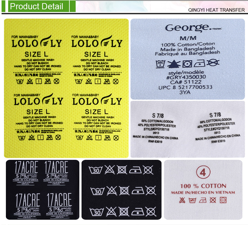 Heat Transfer Labels For Clothing