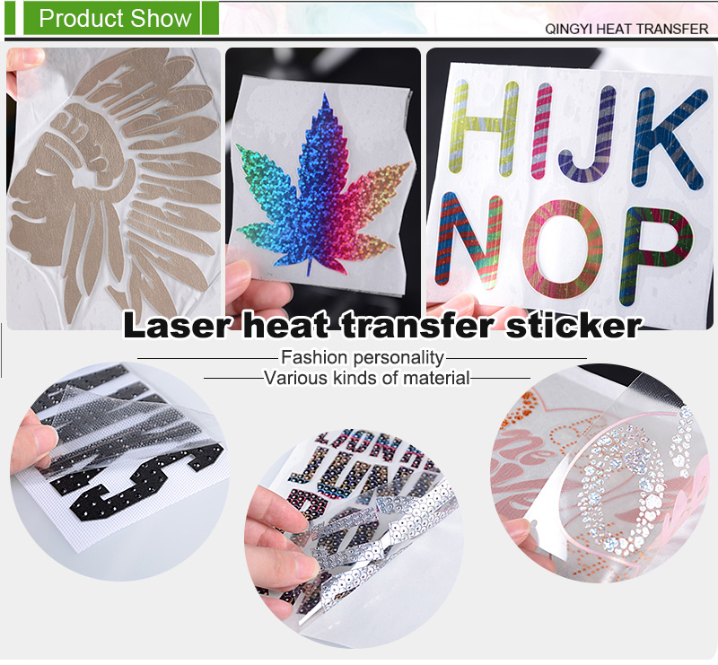 Laser Heat Transfer Sticker Printing